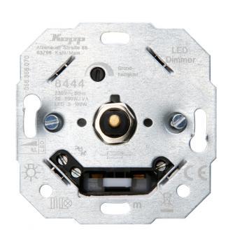 Kopp Druck-Wechselschalter LED-Dimmer f. konventionelle Trafos UP
