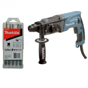 Makita HR2470X12 Bohrhammer inkl. Zubehör-Set