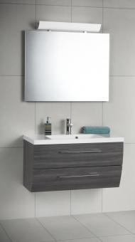 Scanbad Rumba Set 3-tlg. mit Spiegel, 90 cm, Pine Grey